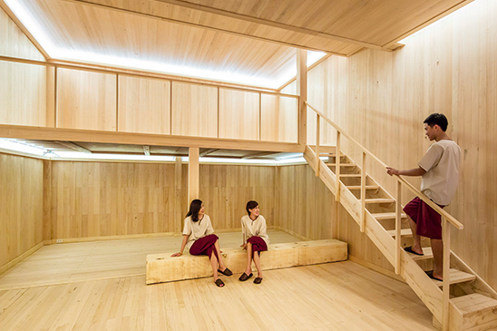 Hinoki Wood Room